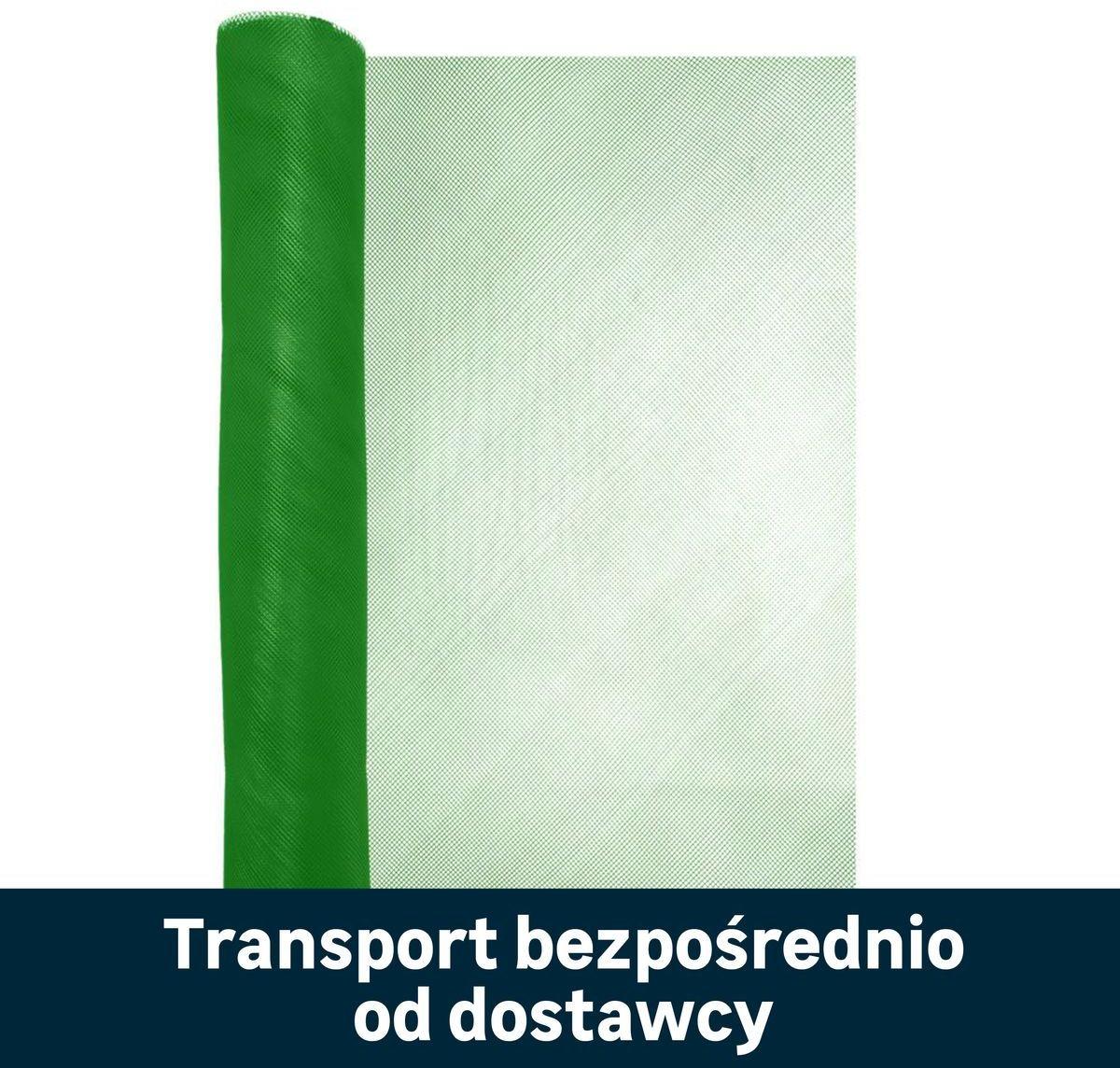 Siatka plastikowa 0.4 x 5 m 150 szt. zielona