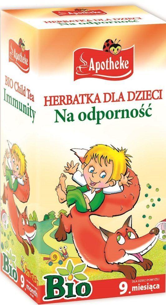 Herbatka Dla Dzieci Na Odporność 20x1,5g - Apotheke EKO