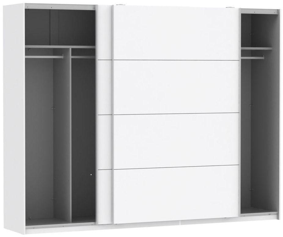 Szafa ubraniowa z drzwiami przesuwnymi STPS124E1-C04 FORTE
