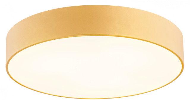 Plafon Darling 872 Argon nowoczesna oprawa w kolorze złotym