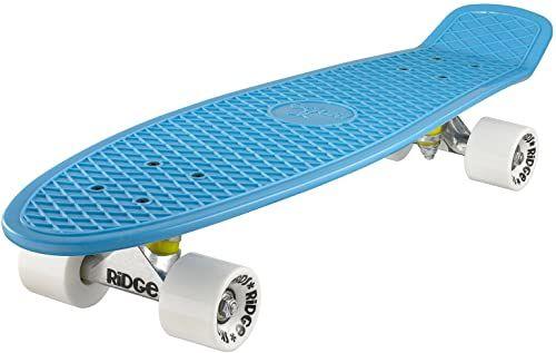 Ridge Deskorolka Big Brother nikiel 69 cm Mini Cruiser, niebieska/biała