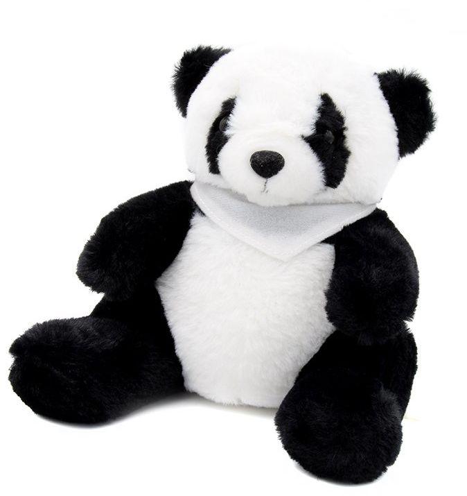Panda z białą chustką NADRUK walentynki urodziny roczek