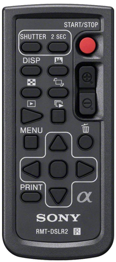 Sony RMT-DSLR2 bezprzewodowy pilot zdalnego sterowania do kamery DLSR i NEX