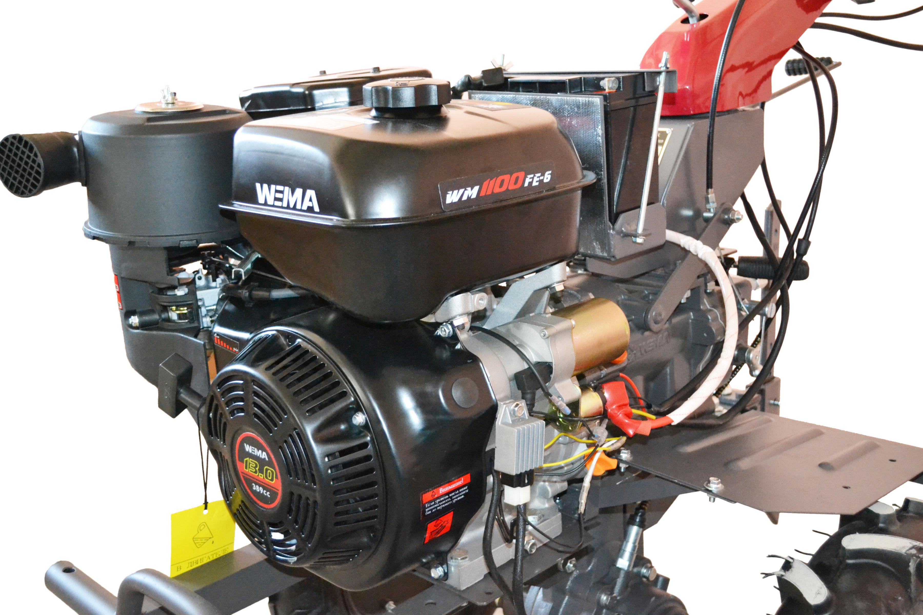 Ciągnik jednoosiowy WEIMA WM1100FE-6 DIFF 13KM