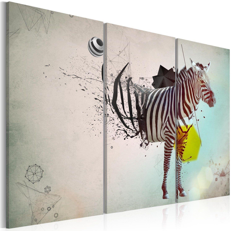 Obraz - zebra - abstrakcja