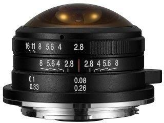 Obiektyw Venus Optics Laowa 4 mm f/2,8 Fisheye do Micro 4/3