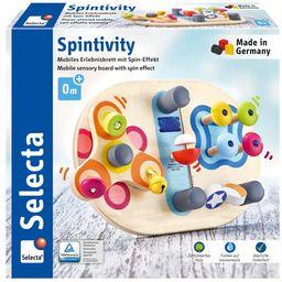 Selecta 62064 Spintivity, zabawka motoryczna z drewna, 20 cm