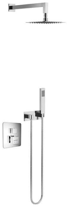 Excellent Frost Quatro Termo zestaw natryskowy podtynkowy termostatyczny chrom AREX.4403CR