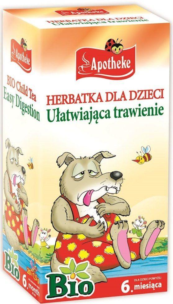 Herbatka Dla Dzieci Ułatwiająca Trawienie 20x1,5g - Apotheke EKO