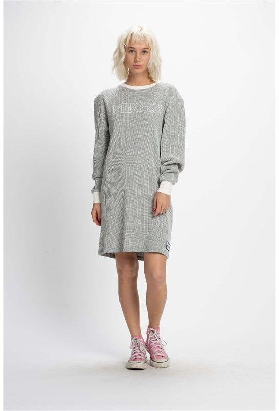 sukienka NIKITA - Crafted Dress Egret (EGR)