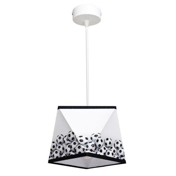 Lampa wisząca nowoczesna MUNDIAL 3D I śr. 21cm piłka nożna