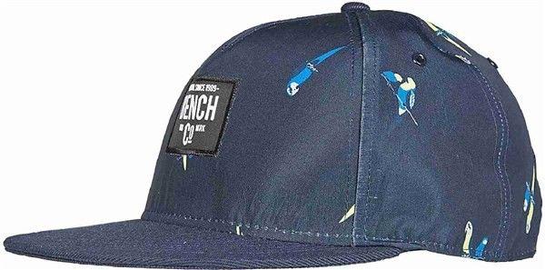 kapelusz BENCH - Parrot Print Cap Dark Navy Blue (NY031)