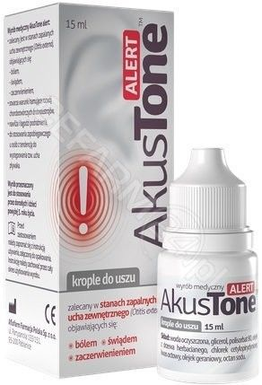 AKUSTONE ALERT 15 ML KROPLE D/USZU AFLOPA - PABIA