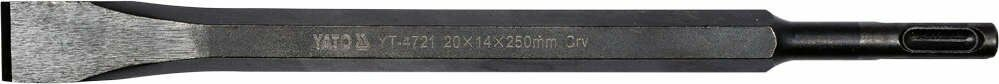 Dłuto wąskie sds+ 20x14x250 mm, crv Yato YT-4721 - ZYSKAJ RABAT 30 ZŁ