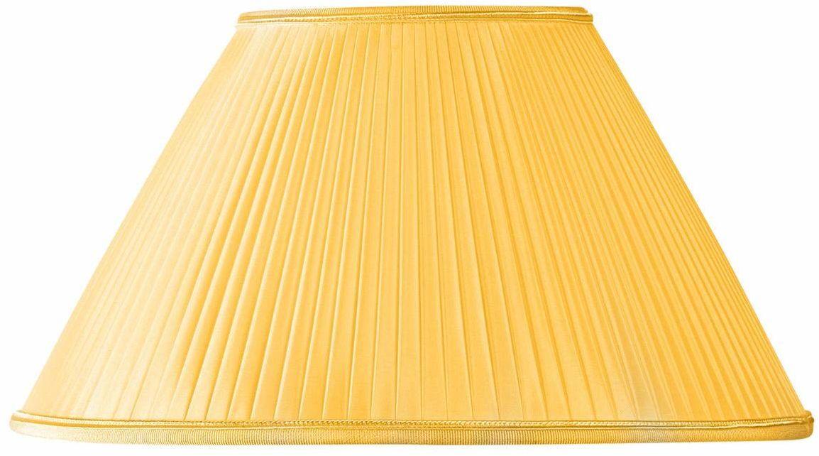 Klosz lampy w kształcie wiktoriańskim, Ø 25 x 11 x 15 (ręcznie złożony) złoty