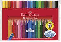 Flamastry Faber-Castell Grip 20 kolorów w etui