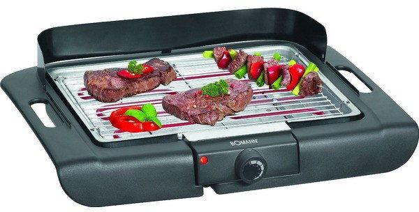 Grill elektryczny stołowy barbecue Bomann BQ 2243 CB