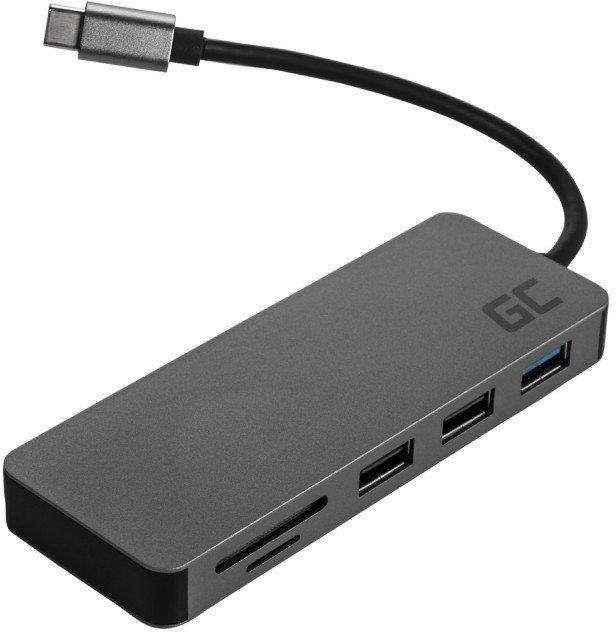 . Hub USB-C Green Cell HDMI 4K DEX SD & MicroSD card slot USB 3.0