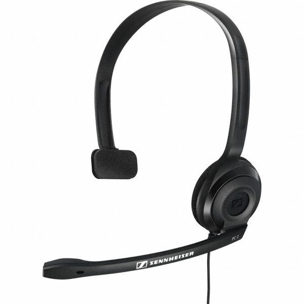 Sennheiser PC 2 CHAT Headset with a single-earband with a 2xJack 3.5mm