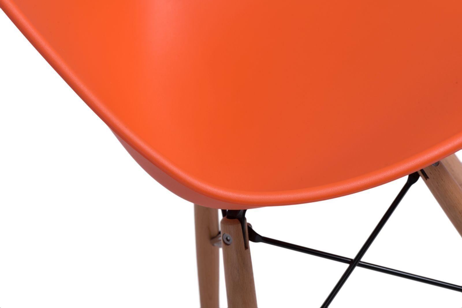 D2 Krzesło Rush DSW pomarańczowe