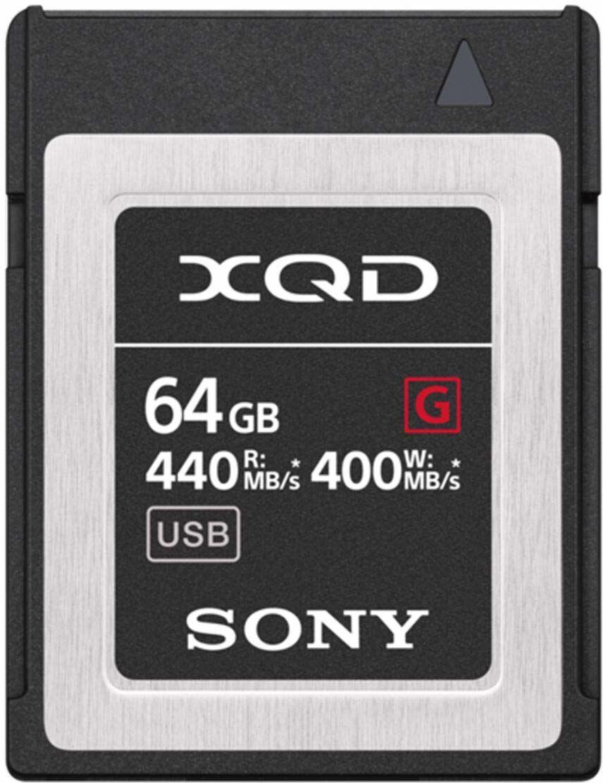 Sony QDG64F/J XQD karta pamięci flash (64 GB, XQD, 440 Mb/s)