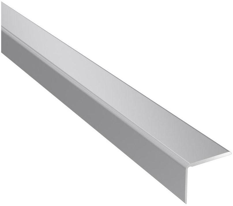 Profil podłogowy schodowy No.25 Srebrny 25 x 20 x 1200 mm Artens