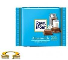 Czekolada Ritter Sport Alpine Milk Chocolate 100g