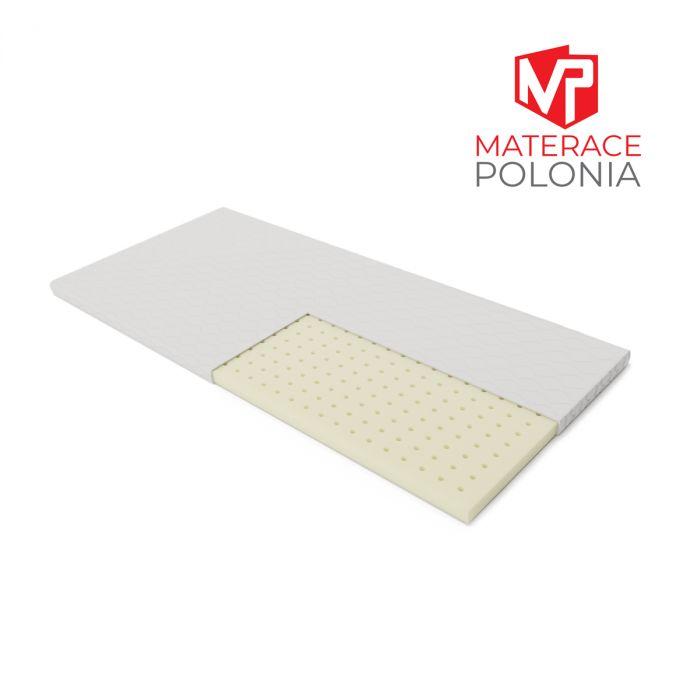 materac nawierzchniowy BIELIK MateracePolonia 90x200 H1 + 2 lat gwarancji