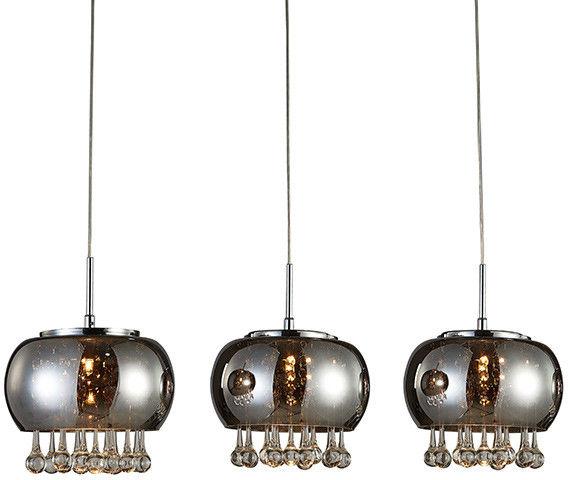 Lampa wisząca Burn 3 AZ2454 AZzardo dekoracyjna oprawa w stylu design