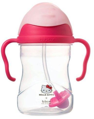 Bidon kubek niekapek ze słomką 240 ml Hello Kitty Pop Star b.box