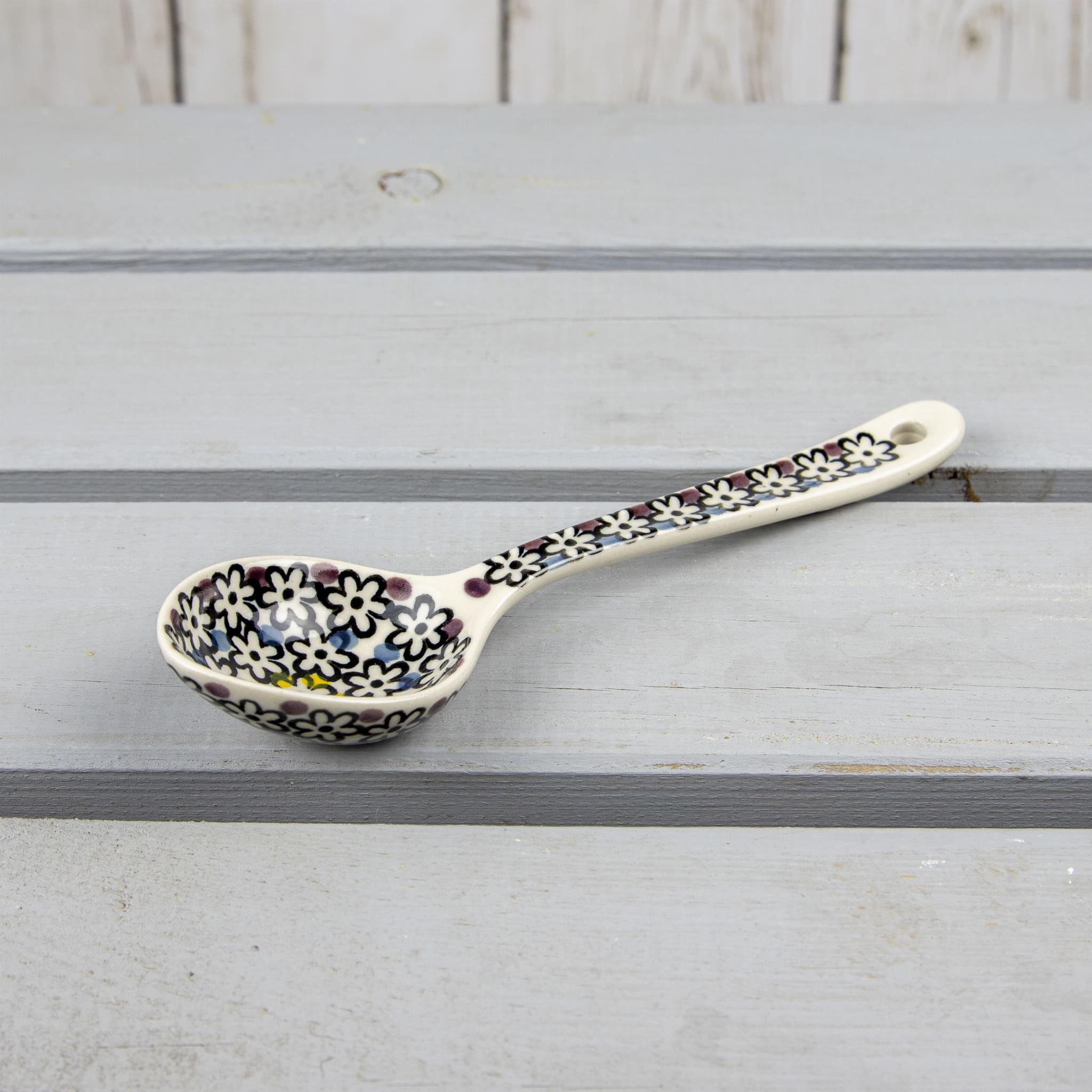 Łyżka ceramiczna 18cm, Bolesławiec