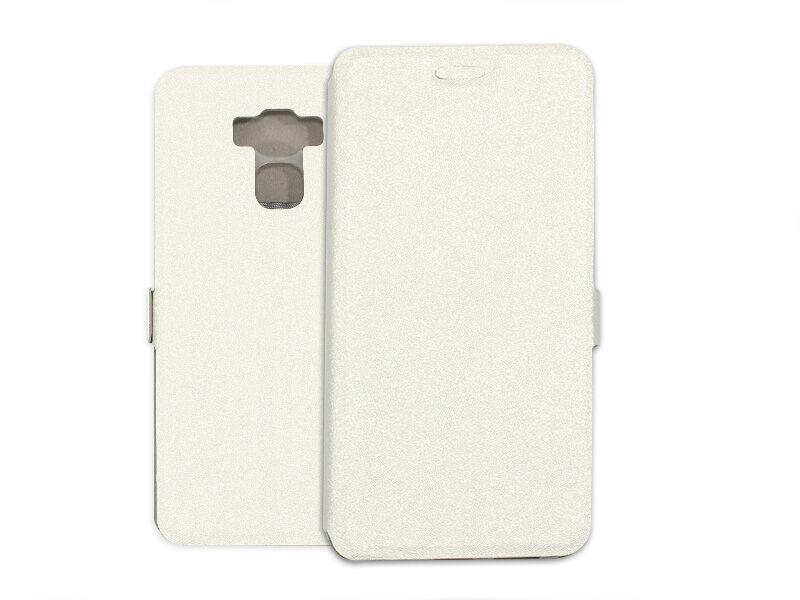 Asus Zenfone 3 Max (ZC553KL) - etui na telefon Wallet Book - biały
