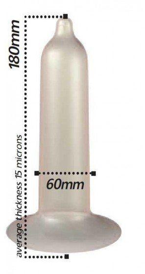 Nielateksowe prezerwatywy do portfela Pasante Unique opak. 3szt.