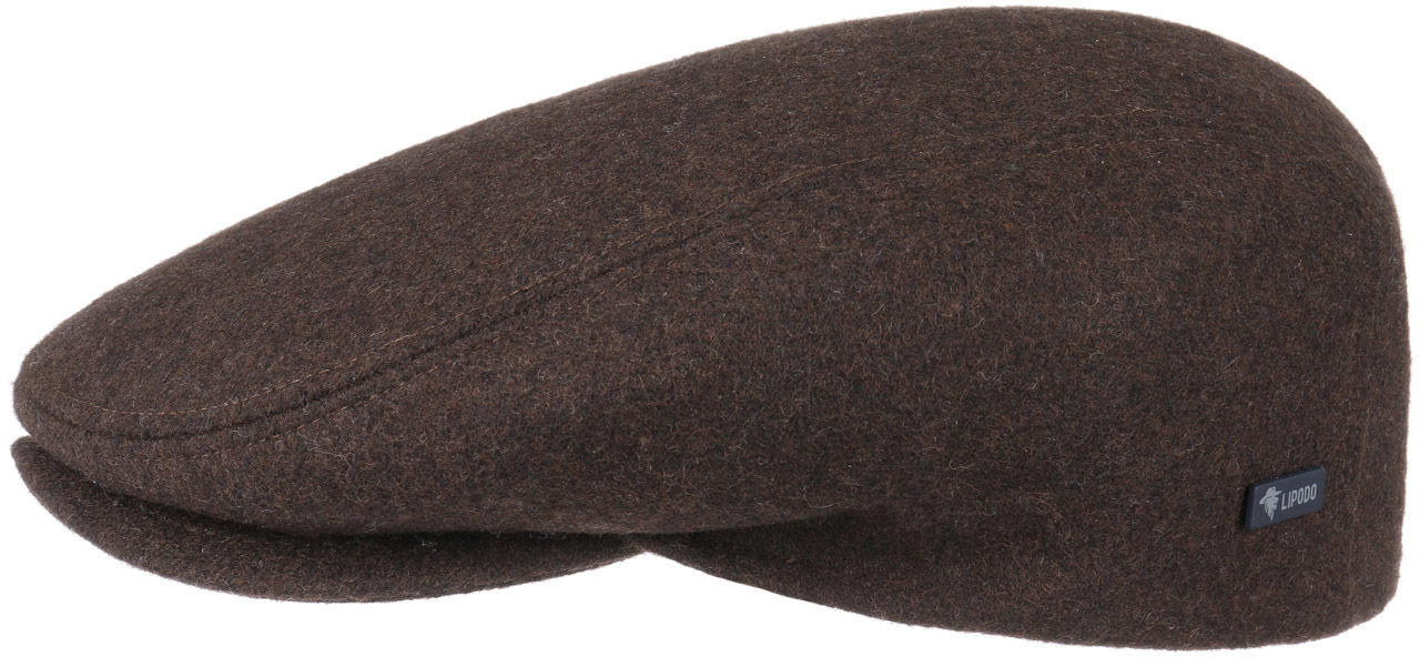 Płaski Kaszkiet Sport by Lipodo, brązowy, 59 cm