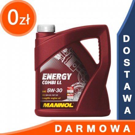 Mannol Energy Combi ll 5W30 4l DARMOWA DOSTAWA