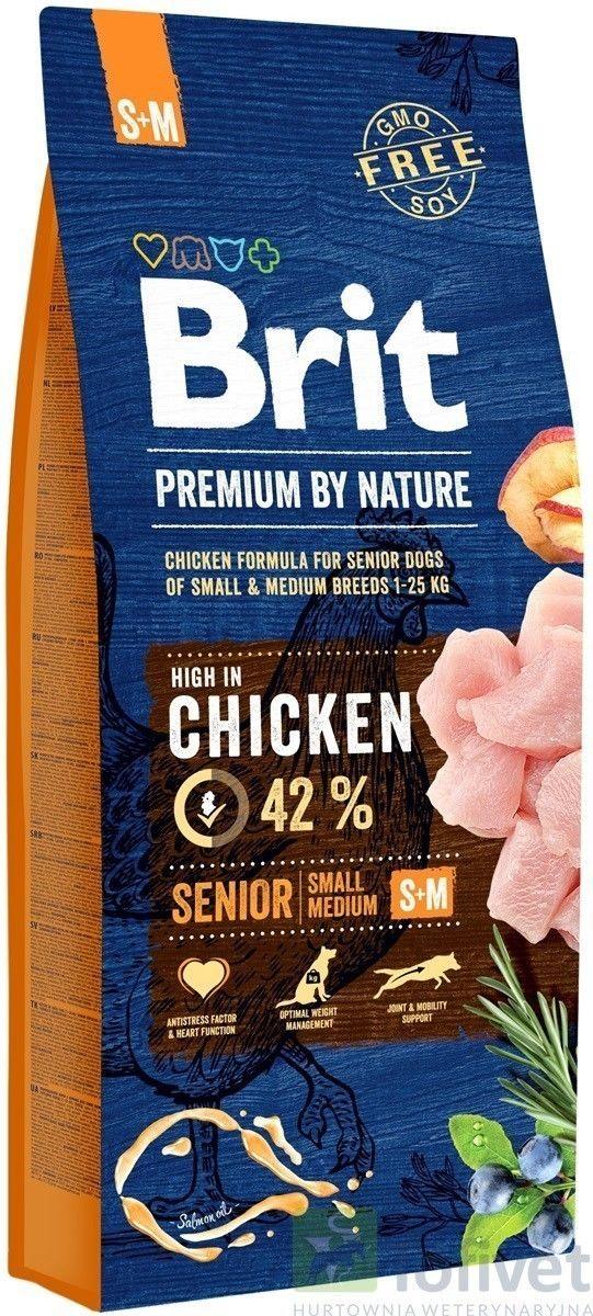 Brit Premium by Nature Senior S/M 8kg