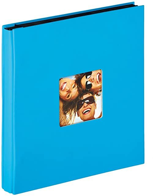 Walther design EA-110-U Fun album do wkładania, na 400 zdjęć w formacie 10 x 15 cm, niebieski oceaniczny