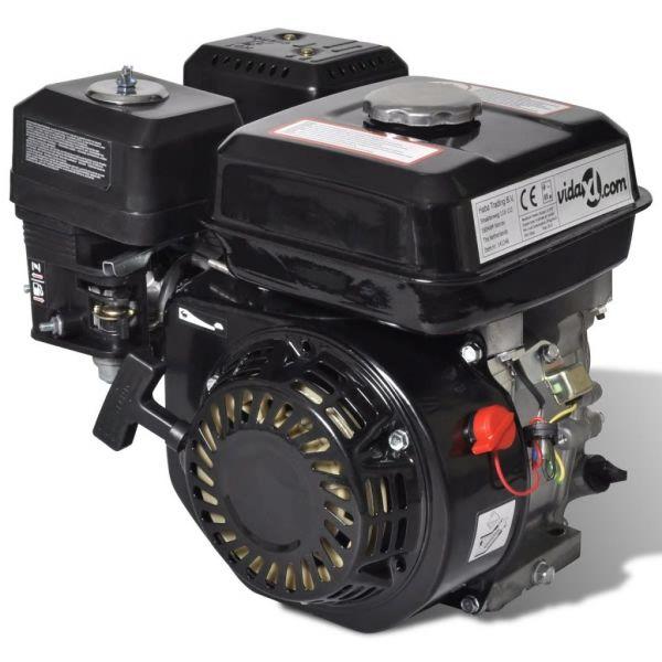 Silnik benzynowy, 6,5 KM, 4,8 kW, czarny
