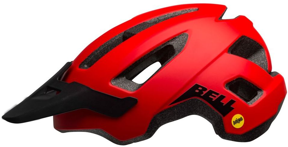 Kask rowerowy mtb BELL NOMAD INTEGRATED MIPS mate red black Rozmiar: 53-60,nomadmipsredblack