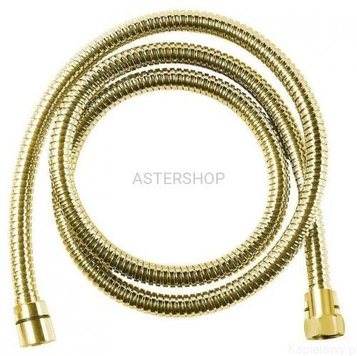 POWERFLEX Wąż prysznicowy 175 cm kolor złoto FLE10ZL