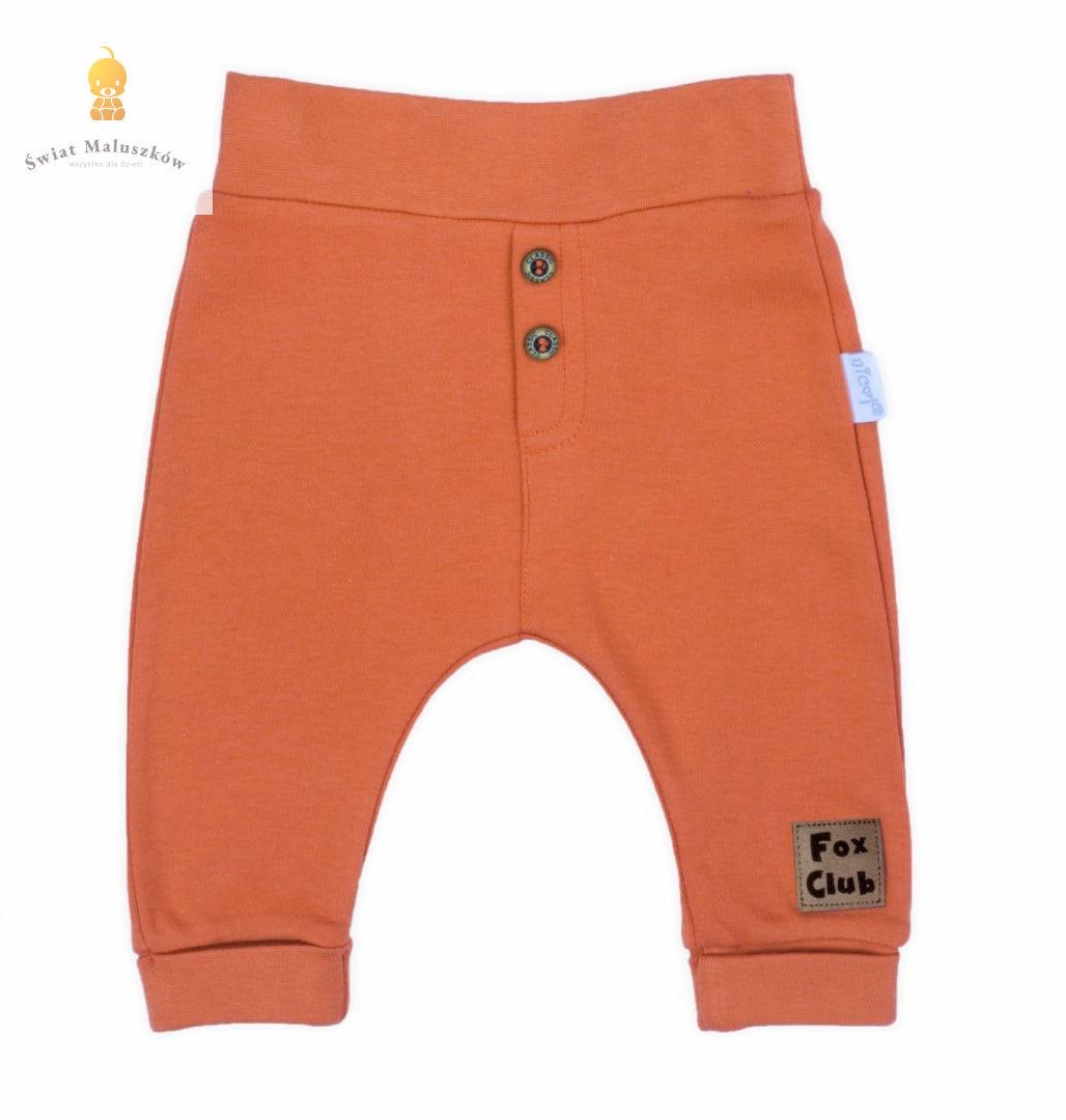 Spodnie dresowe z guziczkami NICOL