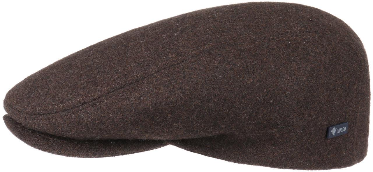 Płaski Kaszkiet Sport by Lipodo, brązowy, 56 cm