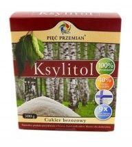 Ksylitol 500 g cukier brzozowy FINLANDIA