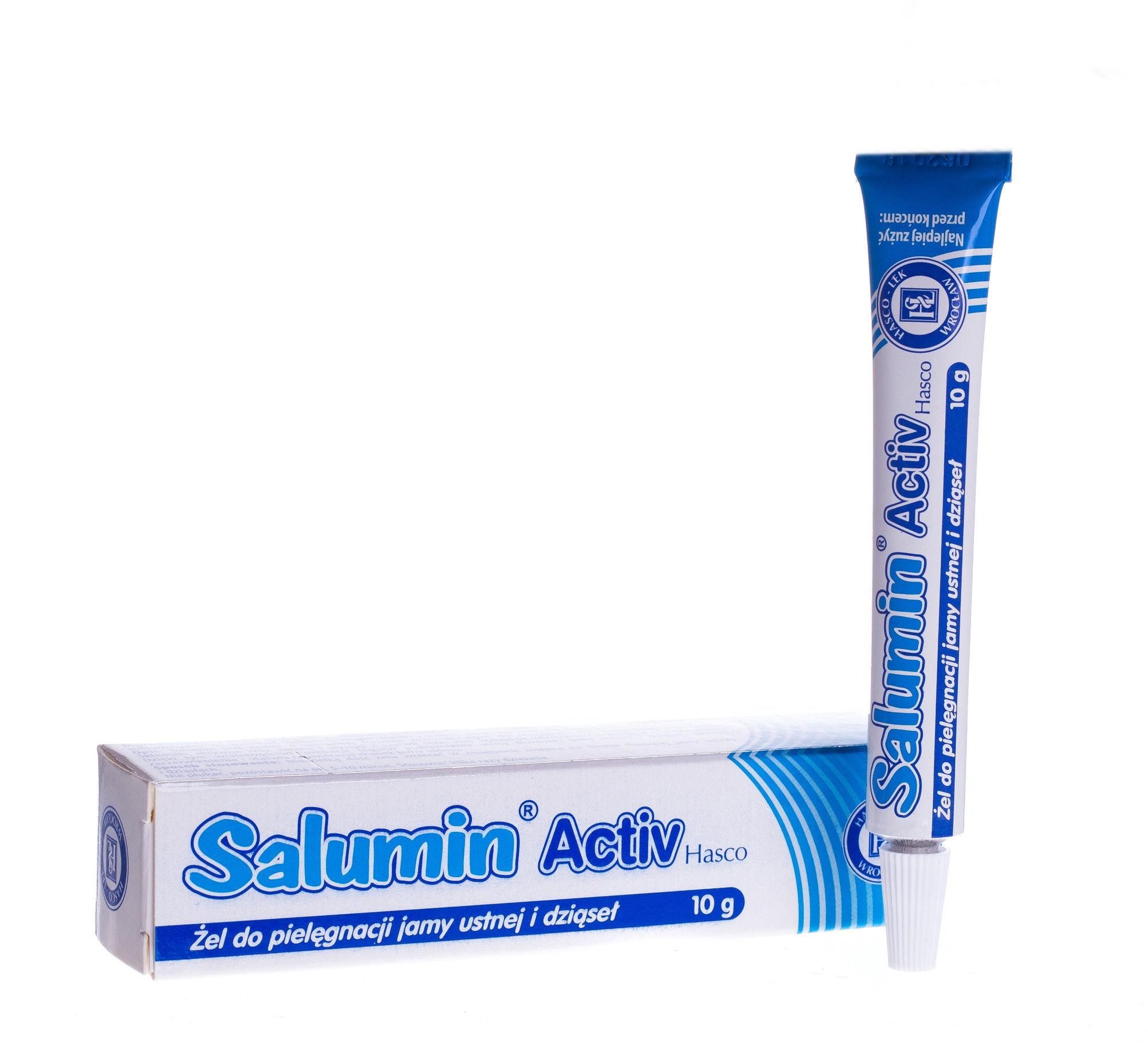 Salumin activ żel 10 g