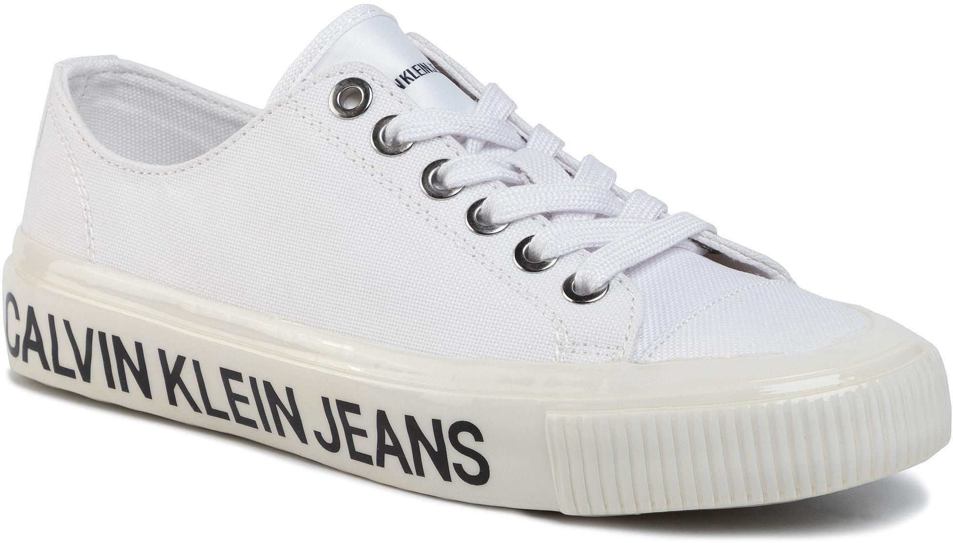 Tenisówki CALVIN KLEIN JEANS - Destinee B4R0807 White