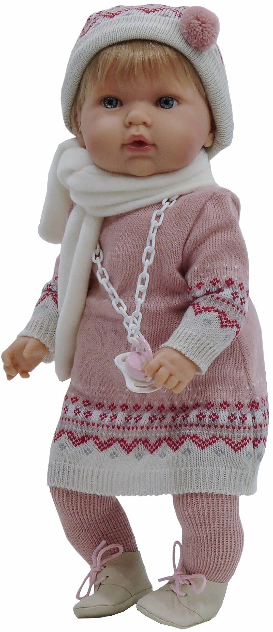 Nines Artesanals d''Onil - Tita, lalka dziecięca z smoczkiem (1080)