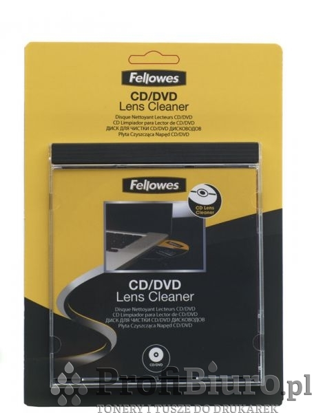 Płyta Fellowes czyszcząca napęd CD