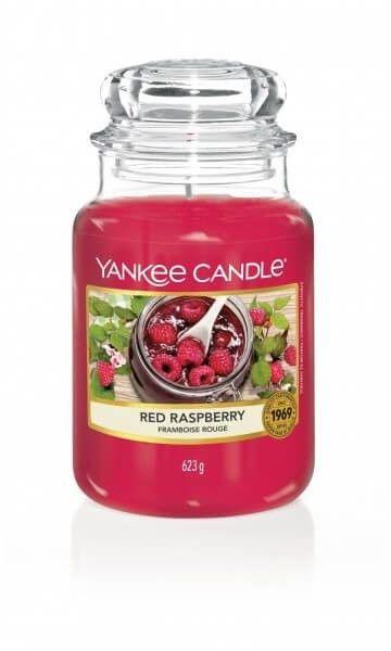 Red Raspberry słoik duży