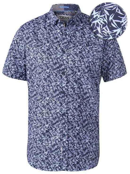 WALPACK-D555 Koszula Hawajska Duże Rozmiary