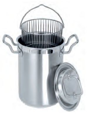 Garnek ze stali nierdzewnej do gotowania szparagów - poj. 4.5 l